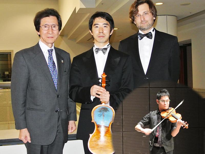 「千の音色でつなぐ絆」~ヴァイオリンプロジェクト~